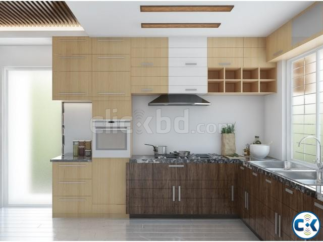 Kitchen Interior | ClickBD large image 1