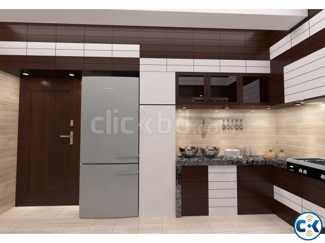 Kitchen Interior | ClickBD large image 2
