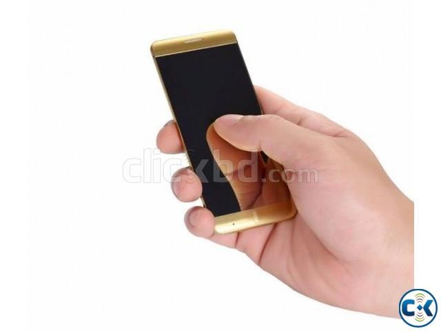 Anica A7 dual sim Card Phone Sim Bluetooth Phone | ClickBD large image 0
