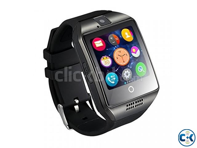 Q18 Sim supported Smart Mobile Watch | ClickBD large image 0