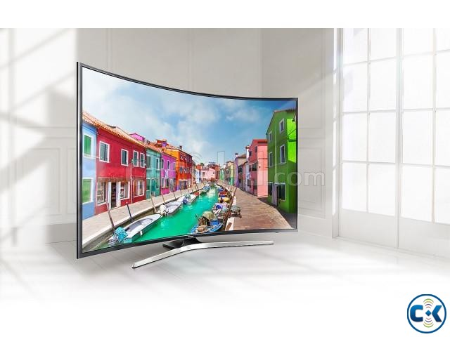 Samsung 55 Inch 4K HDR Curved Smart TV Lowest Price In BD | ClickBD large image 0