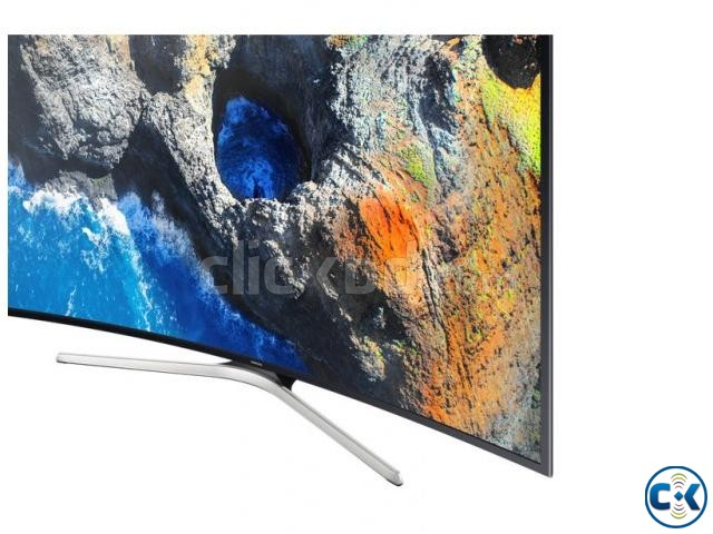 Samsung 55 Inch 4K HDR Curved Smart TV Lowest Price In BD | ClickBD large image 2