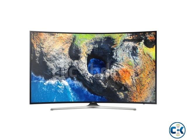 Samsung 55 Inch 4K HDR Curved Smart TV Lowest Price In BD | ClickBD large image 4