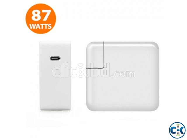87W USB-C Power Charger Adapter for Apple MacBook PRO 13  | ClickBD large image 0