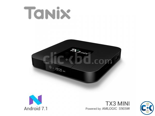 Tanix TX3 mini 2 16GB Android 7.1 Amlogic s905w Quad core | ClickBD large image 0
