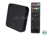 Android Smart TV BOX Quad Core 2G 8G MXQ 4k - Black
