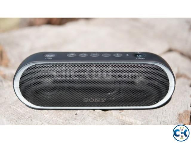 Sony XB20 Portable Wireless Speaker with Bluetooth Black | ClickBD large image 0