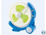 Fan usb charger led emergency light with fan 5870