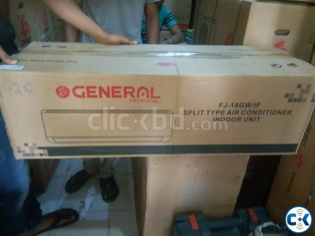 GENERAL 1.5 TON SPLIT AC Air Conditione | ClickBD large image 1