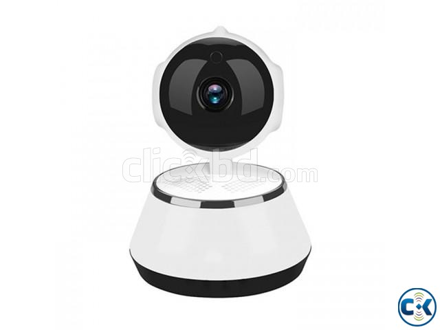 V380 IP Camera WiFi IP Camera Night Vision 360 degree   ClickBD large image 0