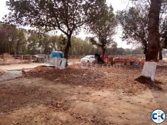 10 Katha Southeast Corner plot Navana Purbachal | ClickBD large image 0