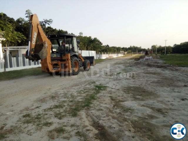 Southeast Corner Plot Purbachal Navana | ClickBD large image 0