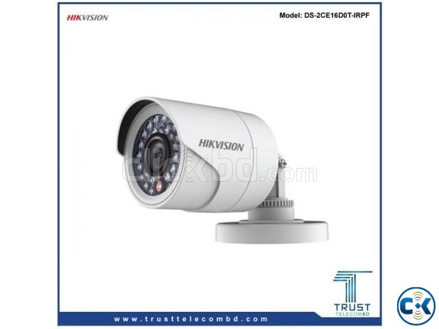 Hikvision 2MP HD Camera DS-2CE16D0T-IRPF | ClickBD large image 0