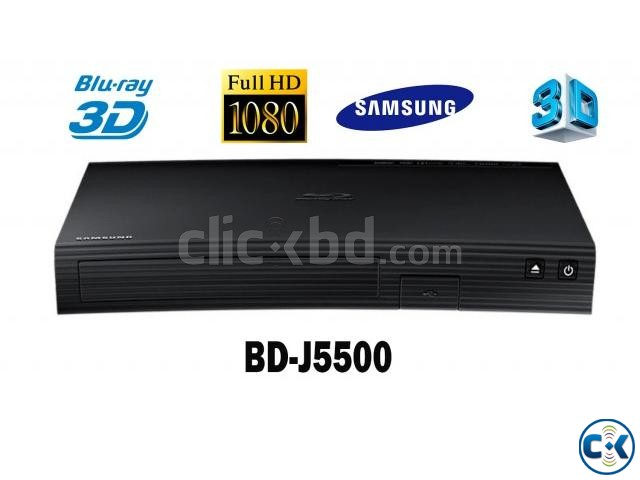 Samsung BD-J5500 Curved 3D BluRay Player BD | ClickBD large image 1