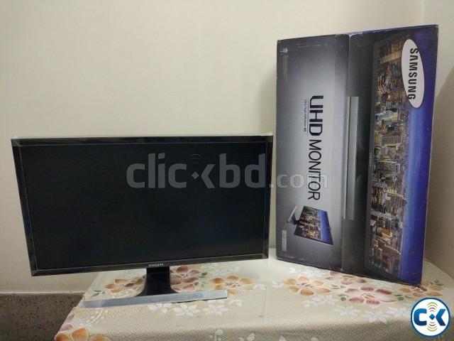 Samsung 4k UHD 28 inch LED | ClickBD large image 0