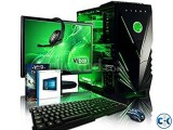 OFFER GAMING CORE i3 500 GB 4GB 17 LED
