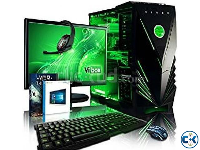 OFFER GAMING CORE i3 500 GB 4GB 17 LED | ClickBD large image 0