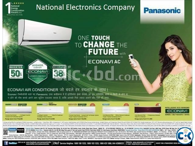 Panasonic CU-YC18MKF 1.5 Ton Wall Mounted AC | ClickBD large image 0