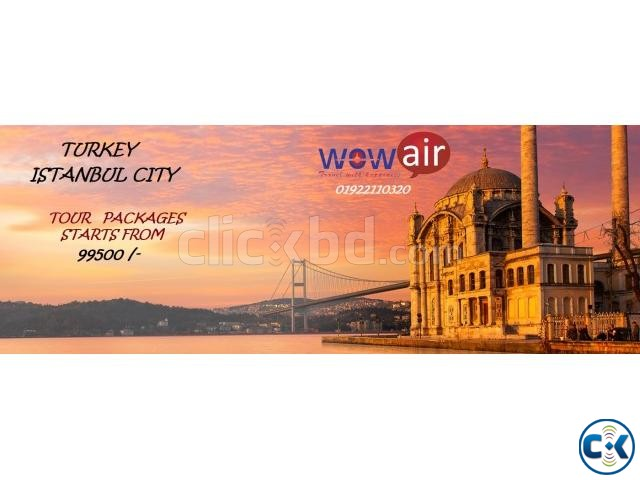 Tour Packages-Turkey | ClickBD large image 0