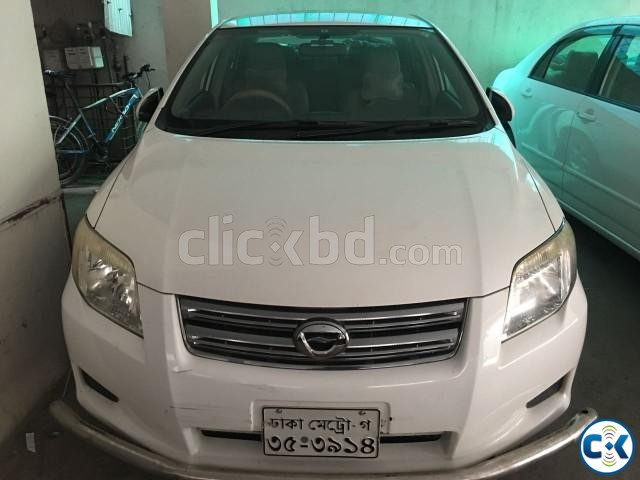 Toyota AXIO 2008 white | ClickBD large image 0
