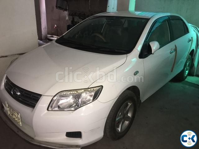 Toyota AXIO 2008 white | ClickBD large image 2