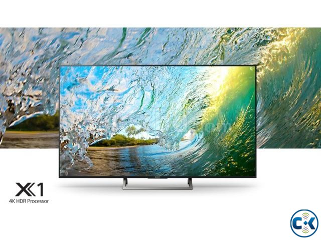 Sony KD-X8500E HDR 4K 55 Android Smart LED Television | ClickBD large image 0