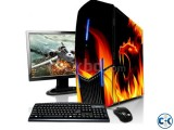 GAMING Desktop Core i5 4GB RAM 1000GB HDD 17 LED