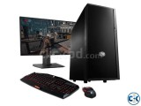 GAMING Desktop Core i3 4GB RAM 250GB HDD 17 LED