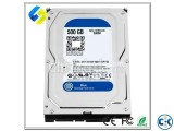 WD HDD500GB 1YEAR WARRINTY