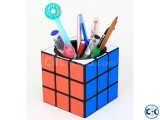 Cube Novelty Puzzle Toy Pen Holder Creative 2 in 1