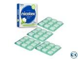 Nicotex Nicotine Quit Smooking Gum-2mg 4 packet 36pcs
