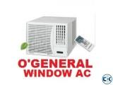 O'General AXGT18AATH Window Type AC 1.5 Ton,Warrenty.