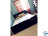 Mehogoni Wood 5 X 7 Bed