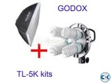 Godox TL-5 Light Holder for photo video Full Package