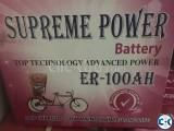Supreme Power 100 mph Easybike Auto Rickshaw Battery
