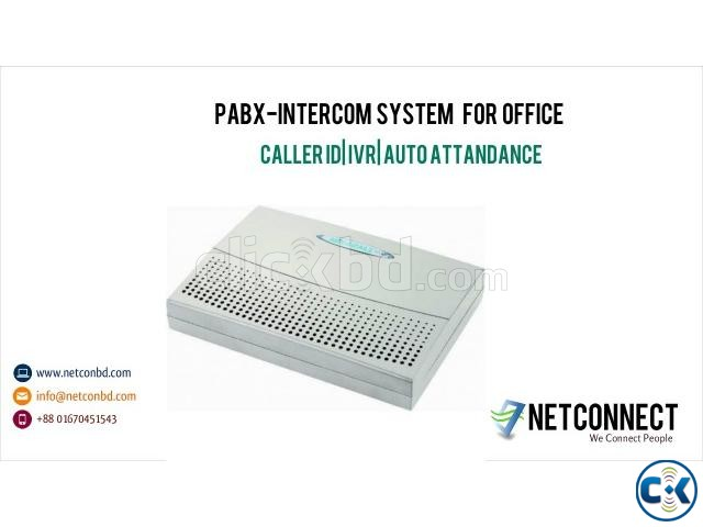16 Port PABX-Intercom System for Office | ClickBD large image 0