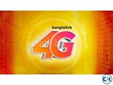 Banglalink Vip 4G Sim