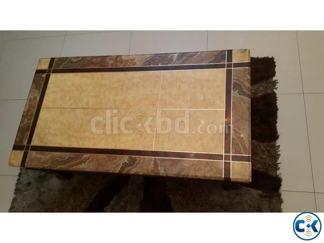 Center Table Marvel Stone  | ClickBD large image 0