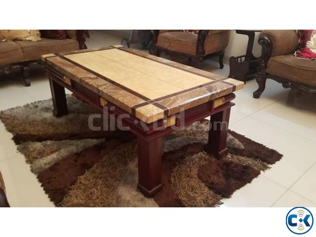 Center Table Marvel Stone  | ClickBD large image 1