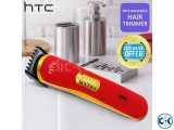 HTC Rechargeable Hair Trimmer AT-1103B - Blue