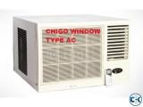 Chigo Window Ac 1.5 Ton New Stocked