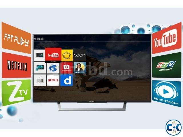 sony Wi Fi HDR LED TV W75E 43 inch | ClickBD large image 2