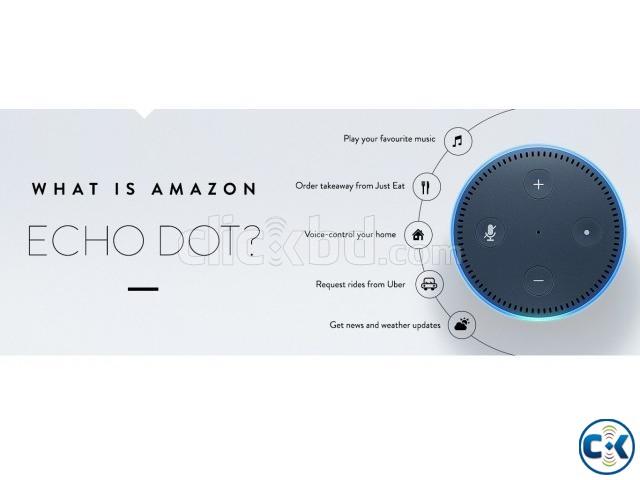 Amazon echo dot 2nd gen  | ClickBD large image 0