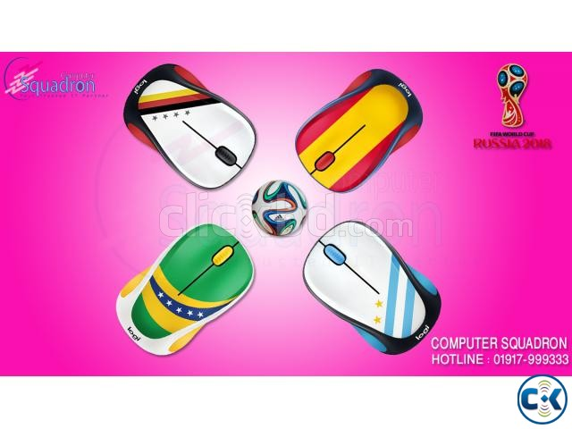 LOGITECH WIRELESS M238 WORLD CUP MOUSE | ClickBD large image 0