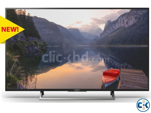 43 X7500E Sony Bravia 4K Android HDR  | ClickBD large image 4