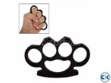 Steel Iron Knuckles Fist Fighting Equipment Self Defense