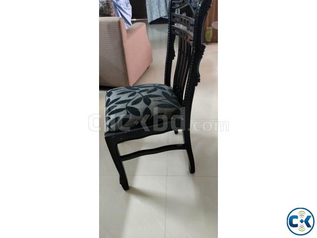 Dining chair made of wood in excellent condition | ClickBD large image 1