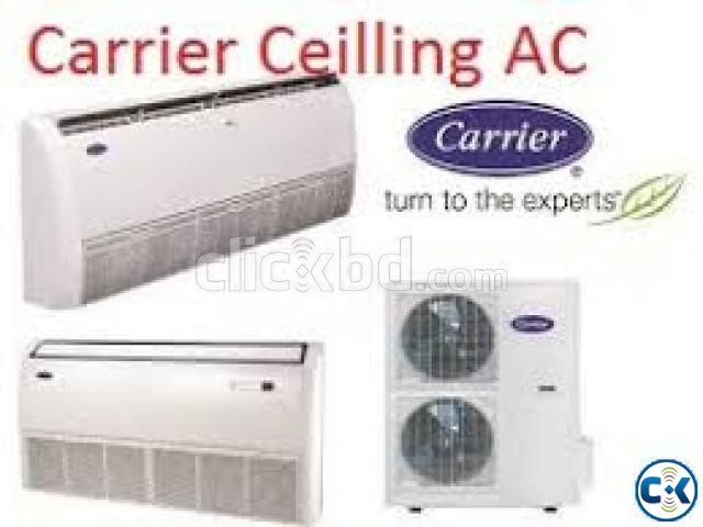 5 Ton Carrier 60CEL120 Original Ceilling CassetteType AC | ClickBD large image 0