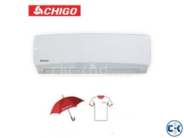 Chigo 24000 BTU Split Air Conditioner - 2 Ton | ClickBD large image 0