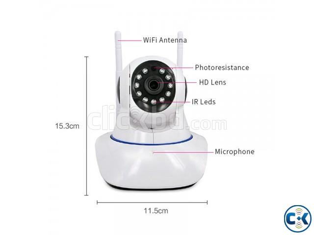 Dual Antenna Wifi Camera price in bangladesh | ClickBD large image 1